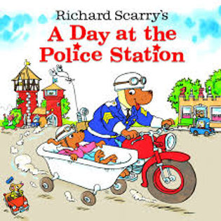 """Richard Scarry's """"A Day at the Police Station"""""""