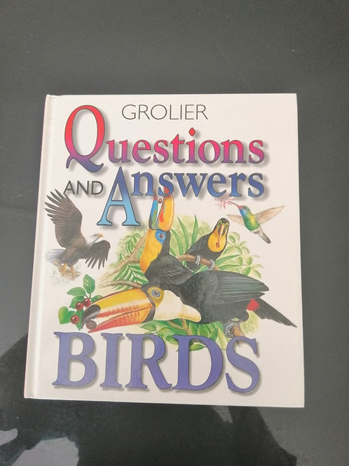 Grolier Questions and Answers - Birds