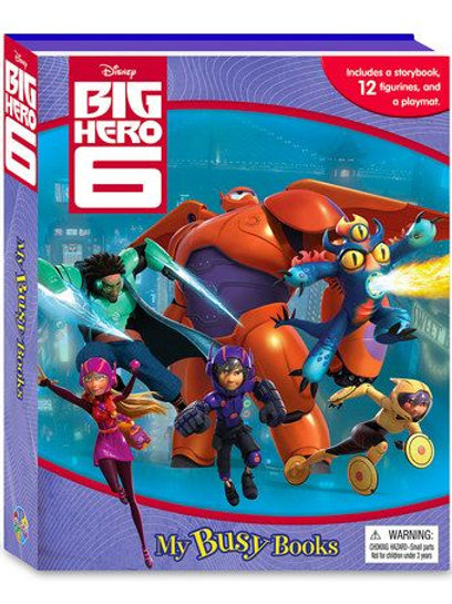 "Big Hero 6 ""My Busy Books"" (includes a storybook, 12 figurines and a playmat)"