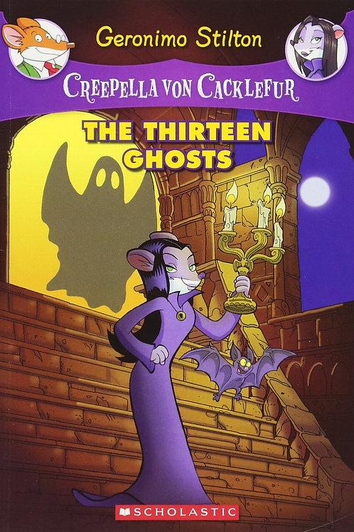 Geronimo Stilton (Creepella Von Cacklefur) - The Thirteen Ghosts