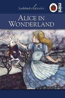 Alice in Wonderland (a mini book)