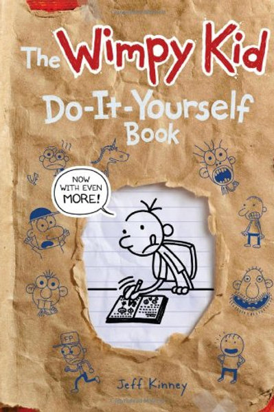 """The Wimpy Kid """"Do-It-Yourself"""" Book"""