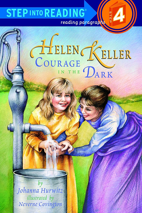 Step into reading (Level 4) - Helen Keller courage in the Dark