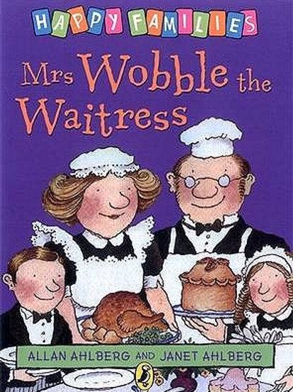"Happy Families - ""Mrs. Wobble the Waitress"""
