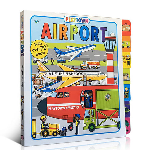 """Playtown - """"Airport"""" (A Lift-the-Flap Book)"""