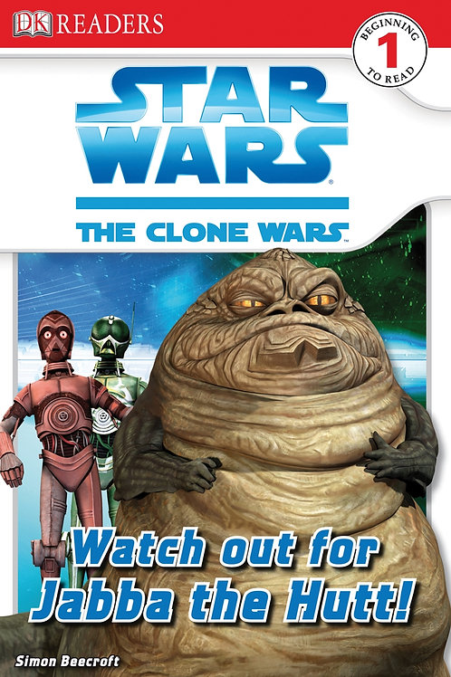 Star Wars The Clone Wars - Watch out for Jabba the Hutt