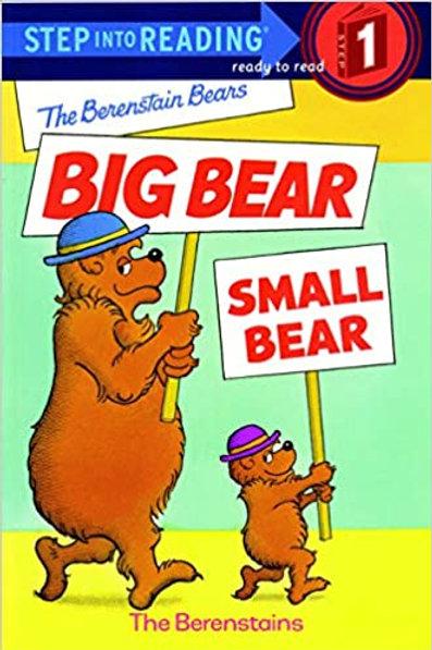 Step into Reading (Level 1) - The Berenstain Bears Big Bear, Small Bear