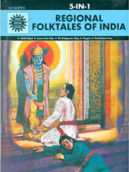 5-in-1 Regional Folktales of India