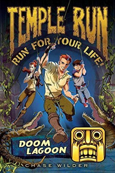 "Temple Run - Run for Your Life!  ""Doom Lagoon"""