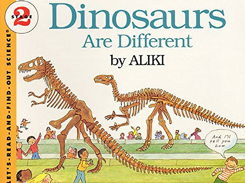 """Let's-Read-And-Find-Out Science (Stage 2) - """"Dinosaur Are Different"""""""