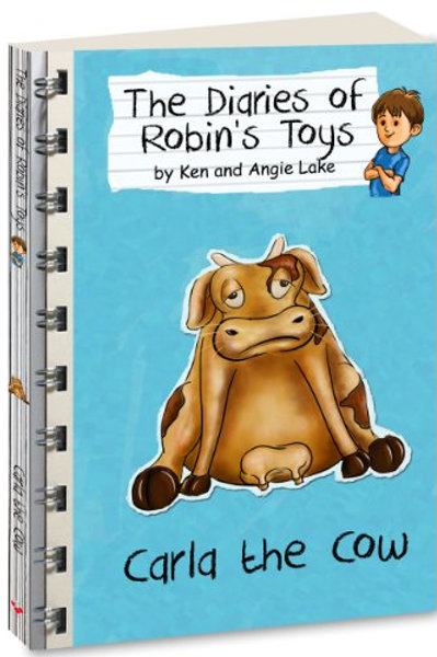 """The Diaries of Robin's Toys - """"Carla the Cow"""""""