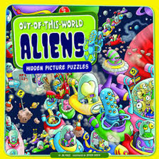 Out-of-this-World Aliens - Hidden Picture Puzzles