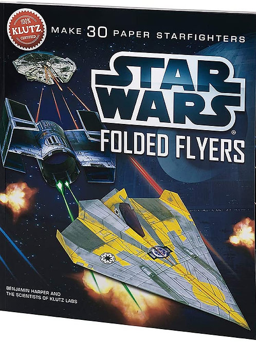 Make 30 Paper Starfighters - Star Wars Folded Flyers