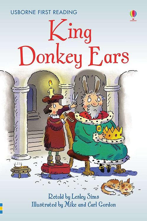 Usborne First Reading - King Donkey Ears