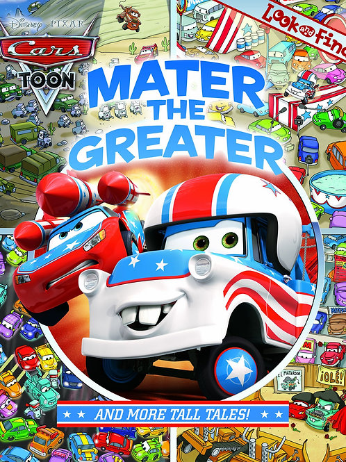 """Disney Pixar Cars Toon - Look and Find """"Mater the Greater"""""""