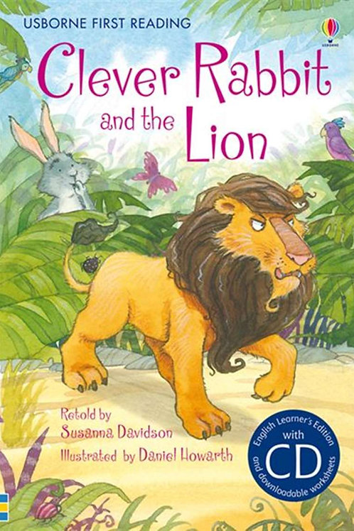 """Usborne First Reading """"Clever Rabbit and the Lion"""""""