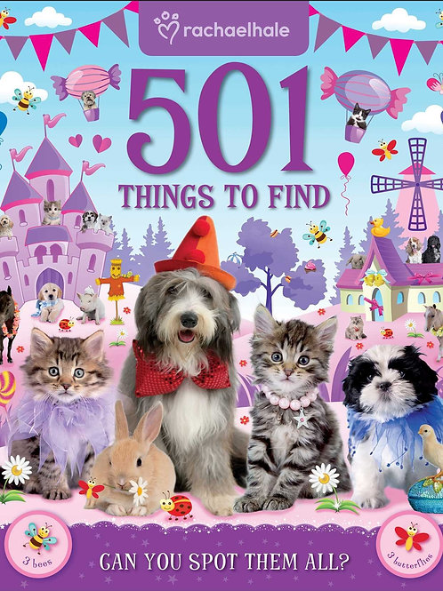 Rachaelhale - 501 Things to Find