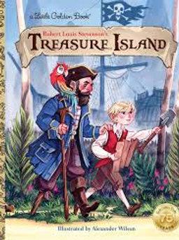 "A Little Golden Book ""Treasure Island"""