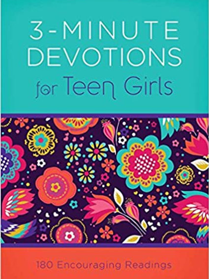 3 - Minute Devotion for Teen Girls