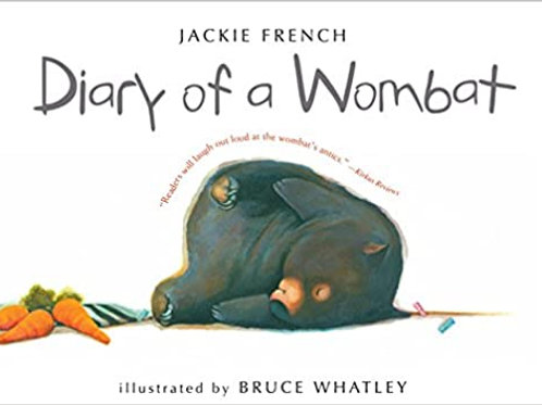 Diary of a Wombat (small picture book)