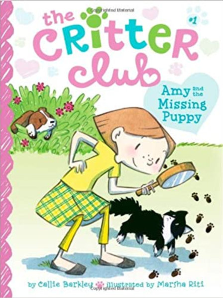 """The Critter Club """"Amy and the Missing Puppy"""""""