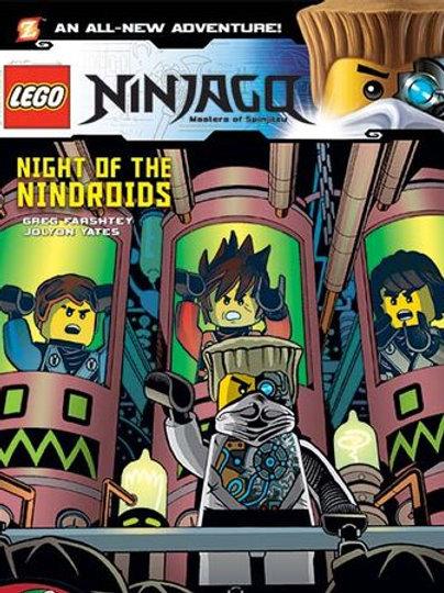 "Lego Ninjago -""Night of the Nindroids"""
