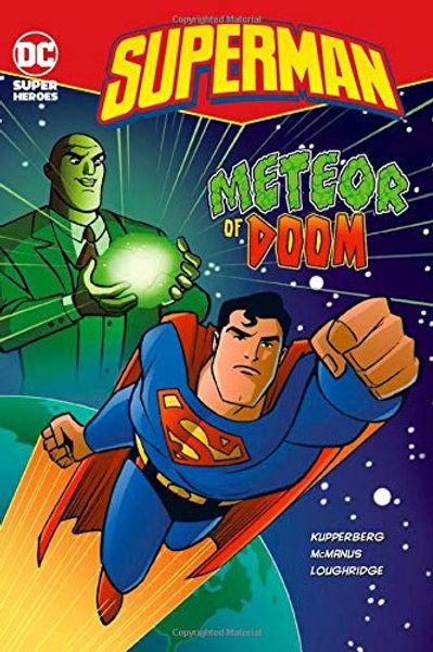 Super Dc Heroes - Superman Meteor of Doom