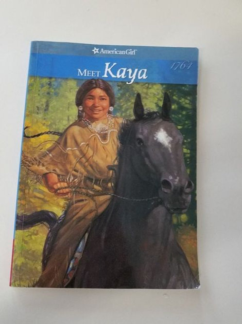 "American Girl ""Meet Kaya"""