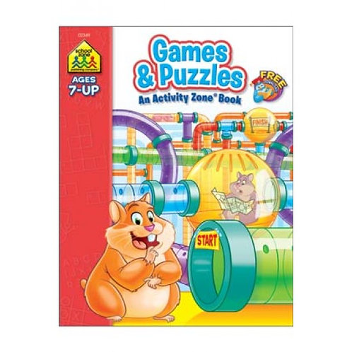 Games & Puzzles - An Activity Zone Book (Ages 7-Up)