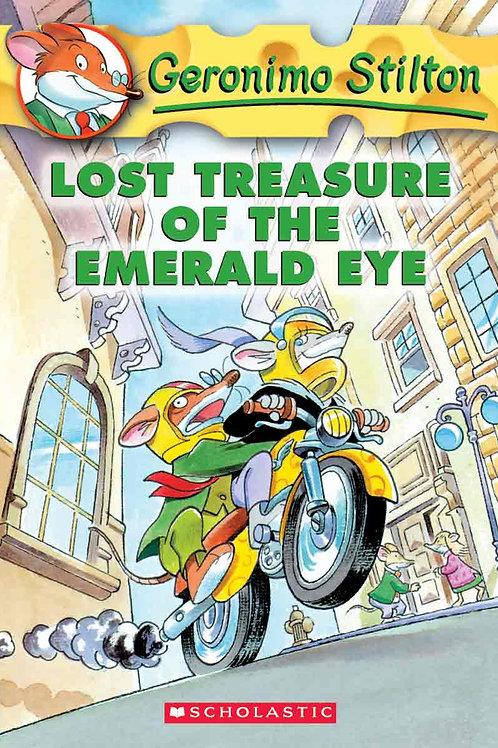 "Geronimo Stilton ""Lost Treasure of the Emerald Eye"""