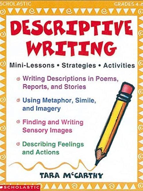 Descriptive Writing (Grades 4-8)