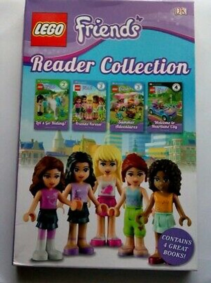 Lego Friends - Reader Collection (Contains 4 Great Books!)