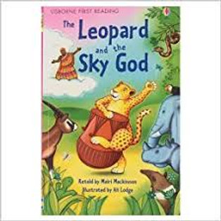 """Usborne First Reading """"The Leopard and the Sky God"""""""