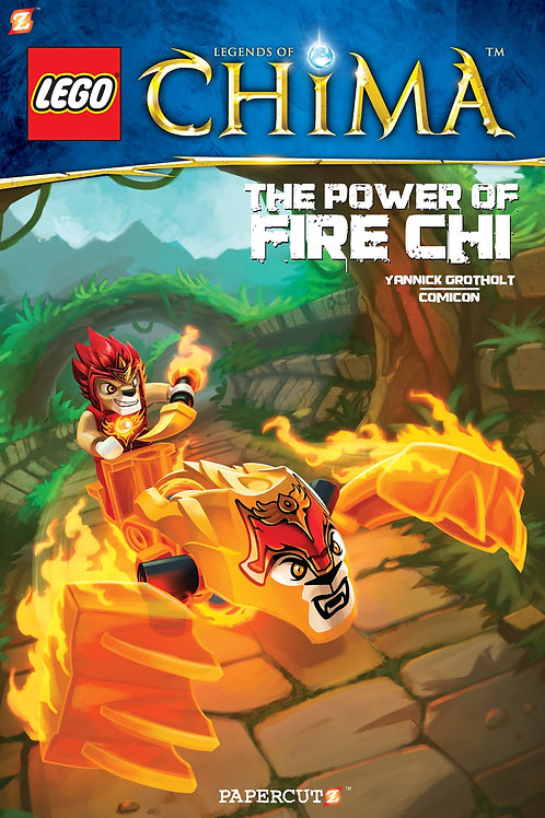 """Lego - Legends of Chima """"The Power of Fire Chi"""""""