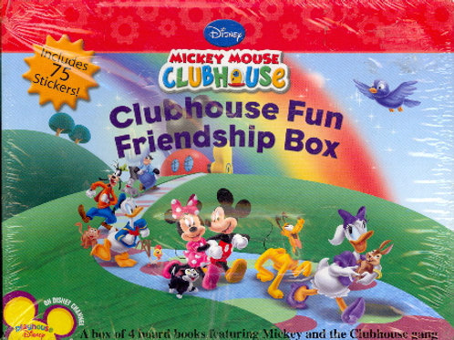 """Mickey Mouse Clubhouse """"Clubhouse Fun Friendship Box"""""""