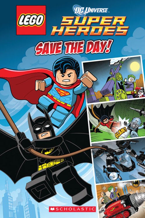 Lego : Super Heroes save the day!