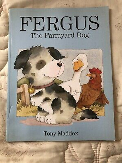 Fergus - The Farmyard Dog