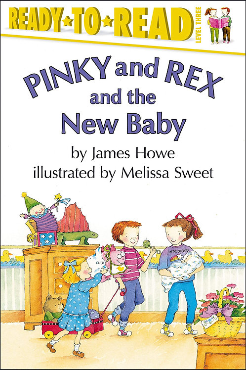 Ready to Read (Level 3) - Pinky and Rex and the New Baby