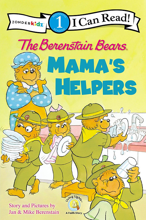 I Can Read! (Level 1) - The Berenstain Bears and Mama's Helpers