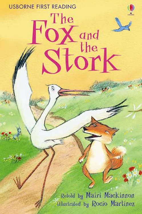 "Usborne First Reading ""The Fox and the Stork"""
