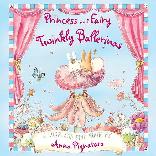 Princess and Fairy Twinkly Ballerinas - Look and Find Book