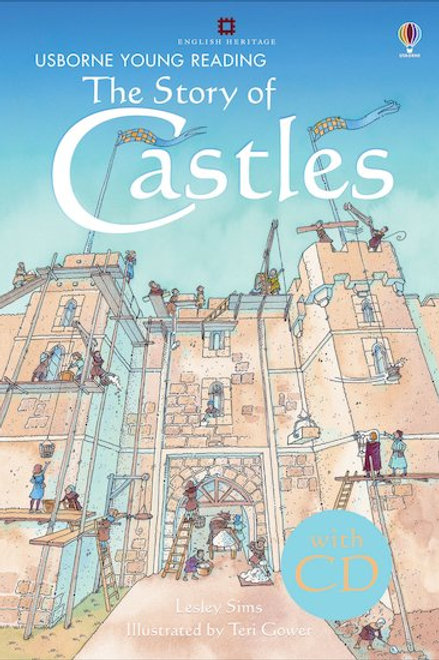 Usborne Young Reading - The Story of Castles