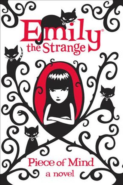 "Emily the Strange - ""Piece of Mind"" (A novel)"