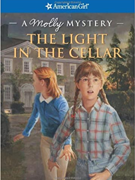 """American Girl - A Molly Mystery """"The Light in the Cellar"""""""