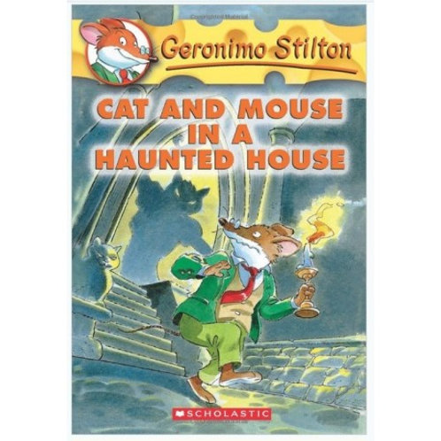 """Geronimo Stilton """"Cat and Mouse in a Haunted House"""""""