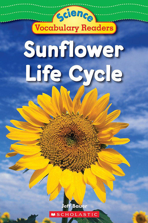 Science Vocabulary Readers - Sunflower Life Cycle