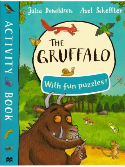 The Gruffalo with Fun puzzles