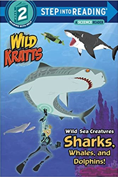 "Step Into Reading (Step 2) - Wild Kratts ""Wild Sea Creatures Sharks"""