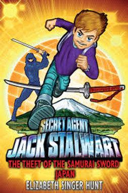 "Secret Agent Jack Stalwart ""The Theft of the Samurai Sword: Japan"""