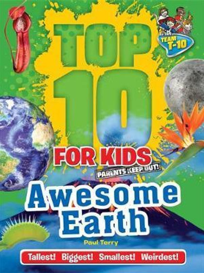 """Top 10 For Kids -  """"Awesome Earth"""""""